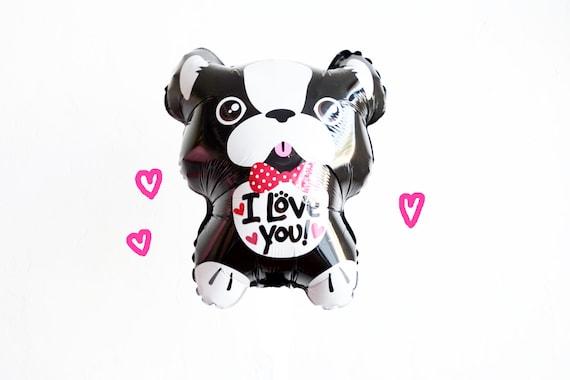 Frenchie Valentine/'s Day French Bulldog Balloon I Love You
