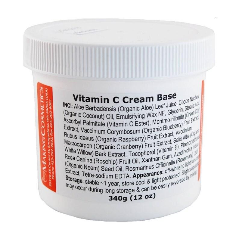 MakingCosmetics - Vitamin C Cream Base - Cosmetic Ingredient