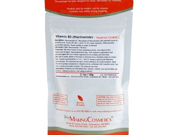 MakingCosmetics - Vitamin B3 (Niacinamide), USP - Cosmetic Ingredient
