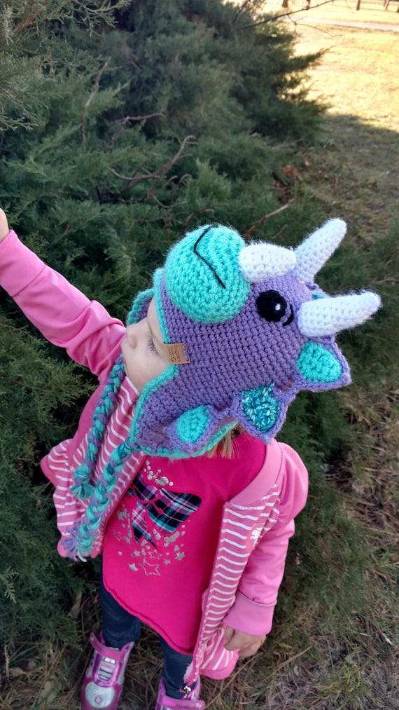 Triceratops Dinosaurier Hut für Kinder und Erwachsene | Etsy