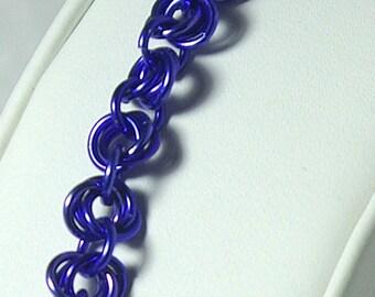 Purple Mobius Bracelet