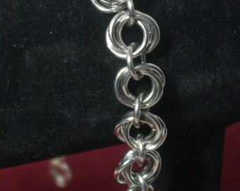 Stainless Steel Mobius Chain Mail Weave
