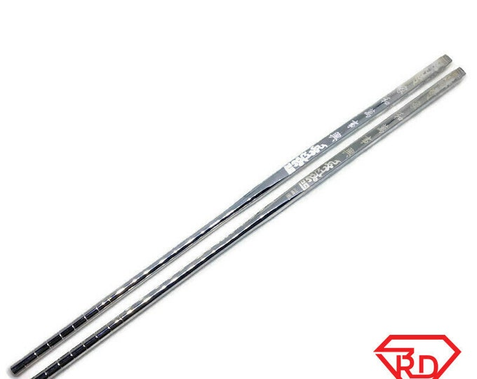 handcraft 999 solid silver chop sticks good fortune