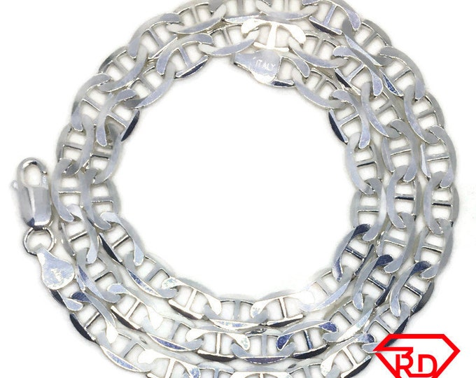 Mariner link Chain 20 inch Necklace 925 Silver