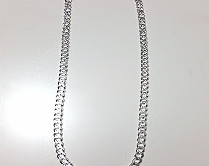 Men Women Children Sterling Silver Italian Cuban Curb Extra Thick Necklace 5.5mm 18""