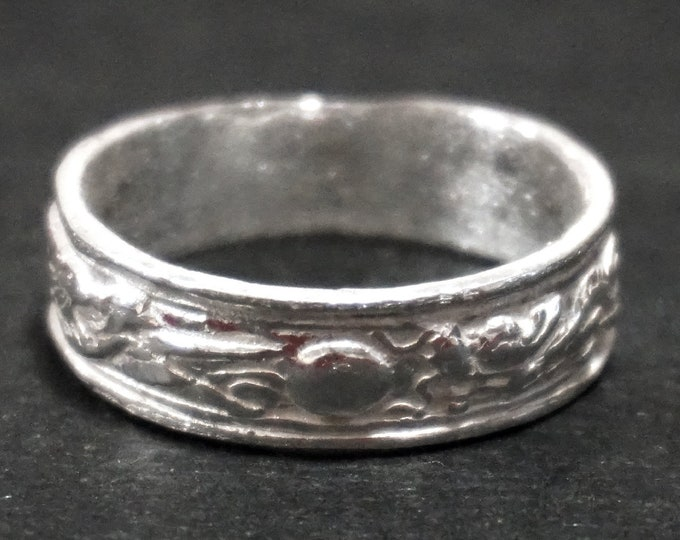 Anti Tarnished 9 2 5 Sterling Silver Stork and Dragon Moon Men's Ring ( Size : 1 1 )