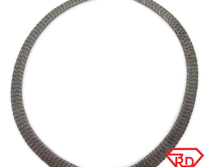 Brand New White Gold on 925 Sterling Silver Necklace 18 inch Flat Wheat chain with Springring Clasp ( 11 . 3 mm  )