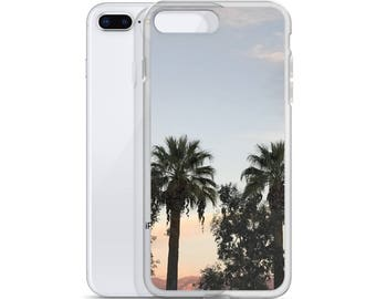 Cali Summer Time Palms iPhone Case