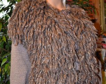 KNIT vest waistcoat Shepherd