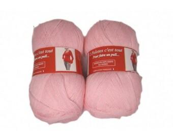big yarn Petal Pink 70 sold has individually