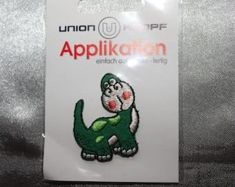 applique dinosaur iron-on or sew