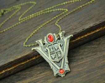Volturi Badge necklace,Jane jewelry-Aro halloween gift C422N_B