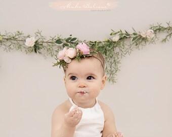 Baby flower crown  1bc83bda8bf