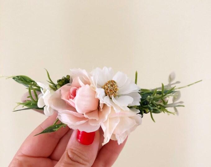 3520b4ba7 Flowergirl Headband | Girls Flower Crown | Baby Flower Crown | Baby Flower  Headband | Baby