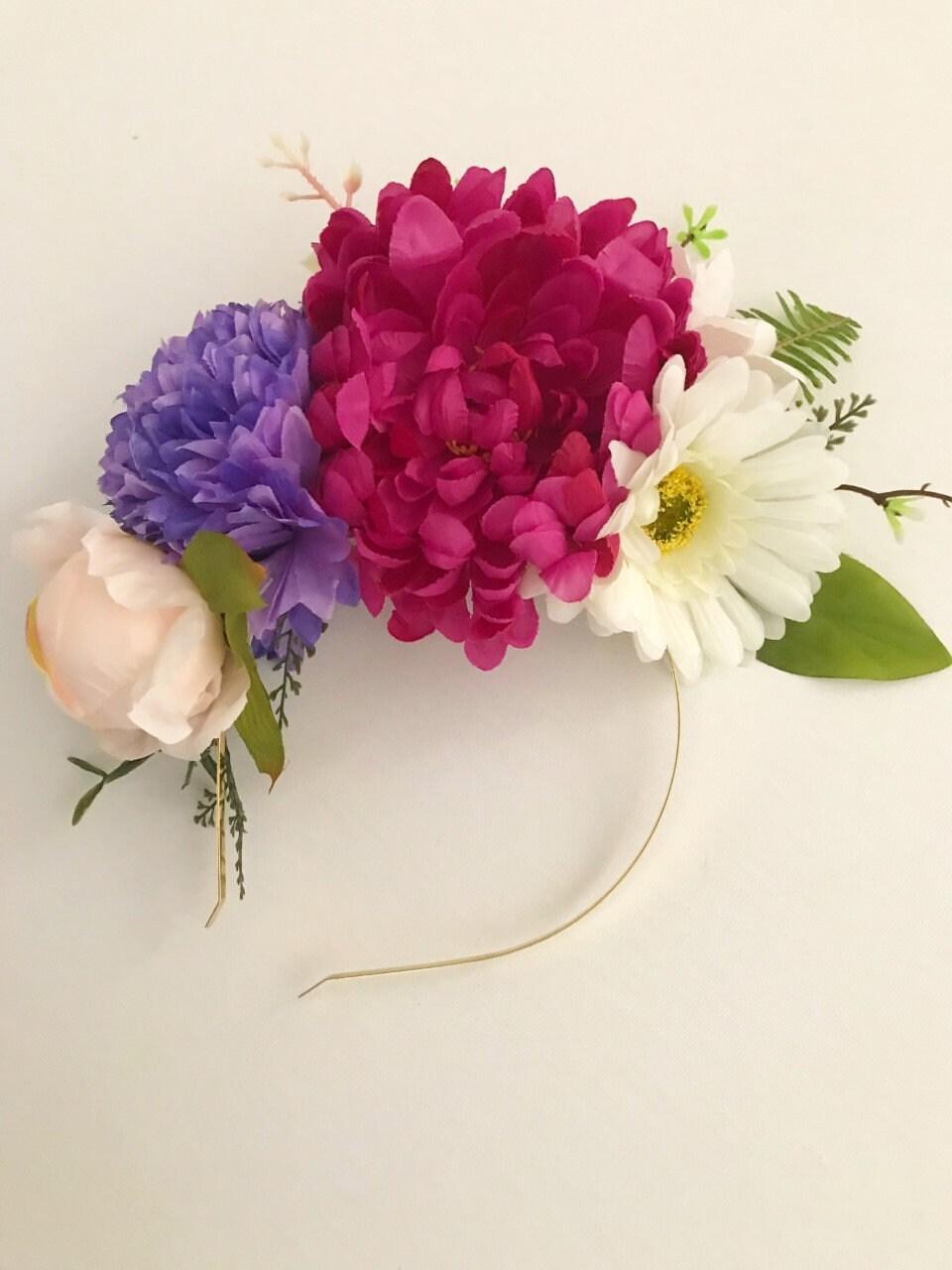 Sale flower headband flower crown races headwear floral sale flower headband flower crown races headwear floral headband boho headband izmirmasajfo