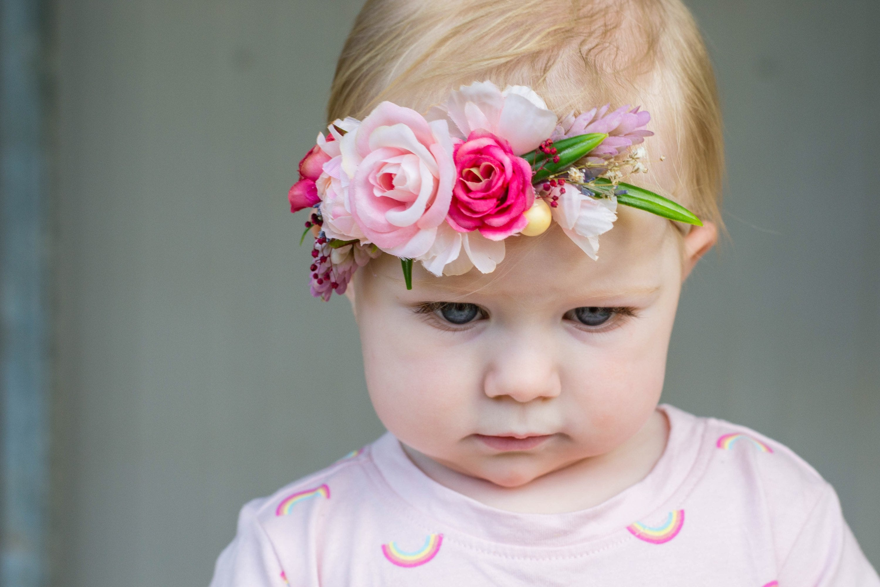 Flower Headband Girls Flower Crown Baby Flower Crown Baby
