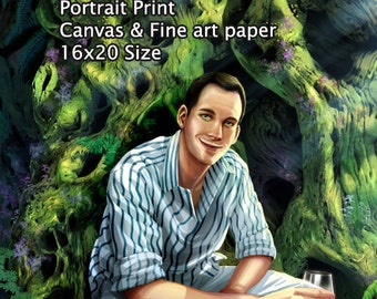 Custom Digital Portrait Print