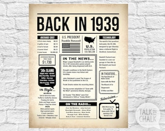 picture relating to Free Printable Left Right Birthday Game referred to as 80th birthday Etsy