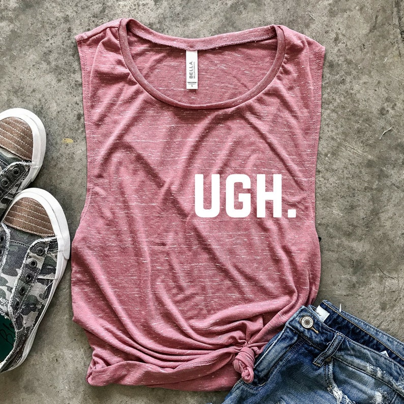 6dc5fec28 Ugh. workout tank Muscle Tee cardio is hardio funny workout   Etsy
