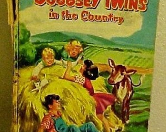 The Bobbsey Twins In The Country Vintage Laura Lee Hope Childrens Book