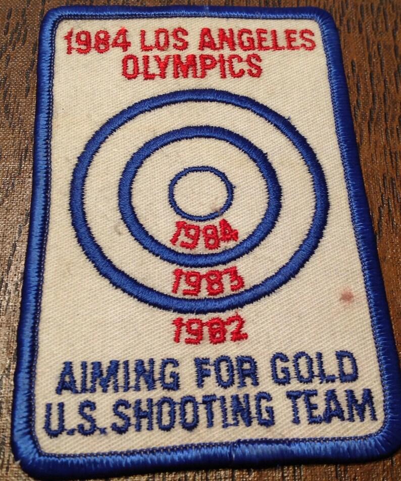 1984 Los Angeles California Olympics Patch  USA Shooting Team
