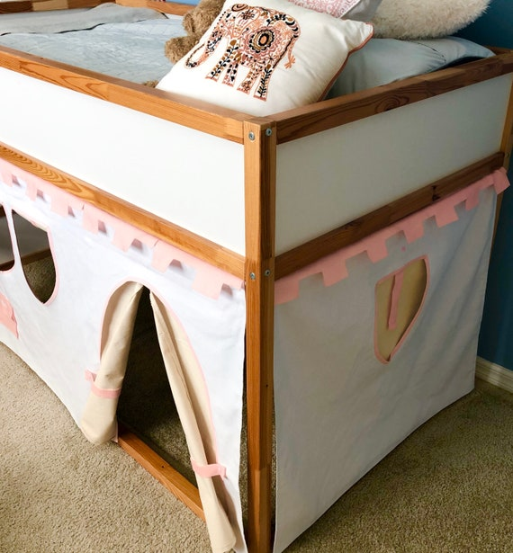 Castle Playhouse For Ikea Kura Bunk Bed Etsy