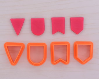 4 Pcs. Bunting Cookie Cutter Set