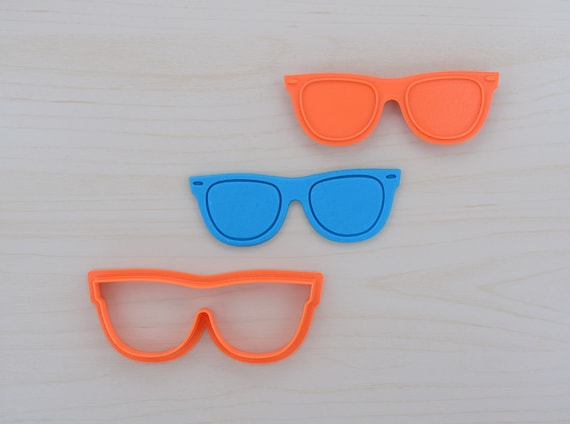 15bb2c0bdc9 Sunglasses Cookie Cutter and Stamp Set