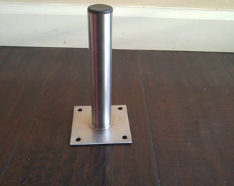 "1"" stainless steel table legs"