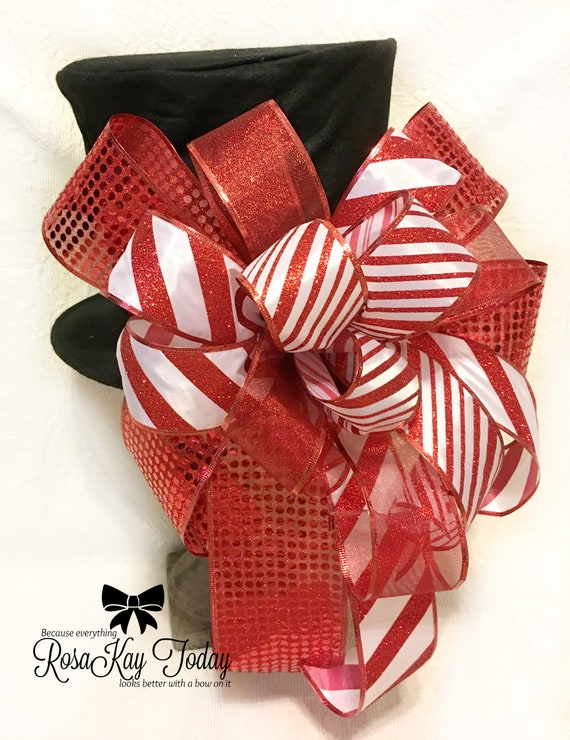 image 0 - How To Tie Decorative Bows For Christmas Decor