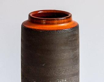 Lehmann Denmark, Handmade 1970s Stoneware Studio Vase