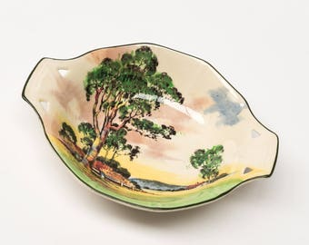 Nut Dish, Royal Doulton Gum Trees, Collectable Australiana, Series 5506