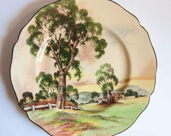 Royal Doulton Gum Trees, Australiana, Series 5506, Large Plate