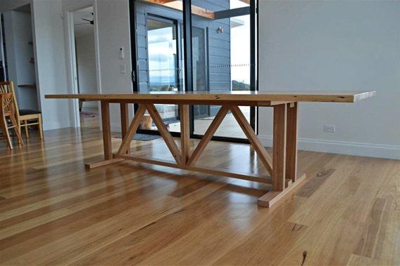 Tavoli Da Pranzo In Legno Riciclato : Riciclato tavolo da pranzo di legno fienile agriturismo etsy