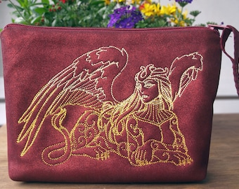 cosmetic bag, utility pouch *** Sphinx***