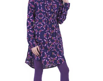 Purple Butterflies<br>lili Dress