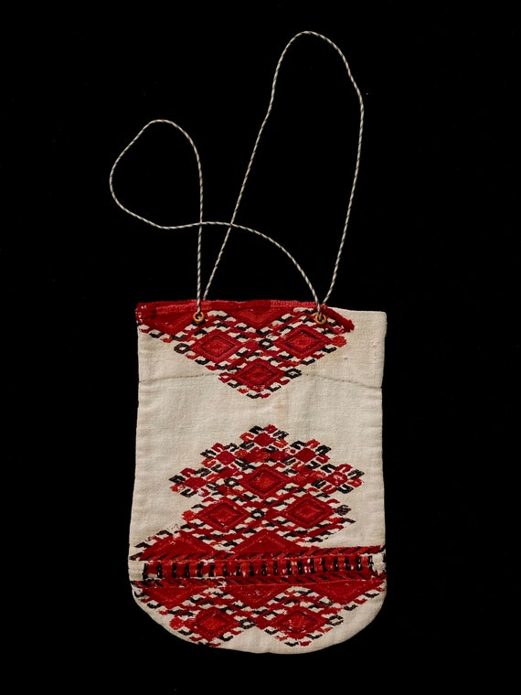 Antique European Hand Embroidered & Hand Construct