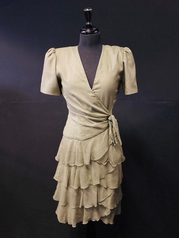 1930'S American Cotton Dress