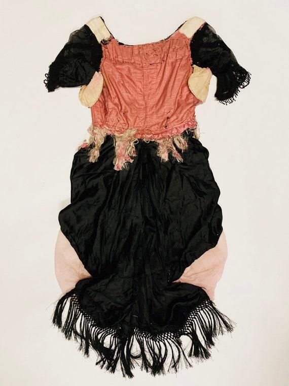 1890's Antique European Dress Bodice - image 4