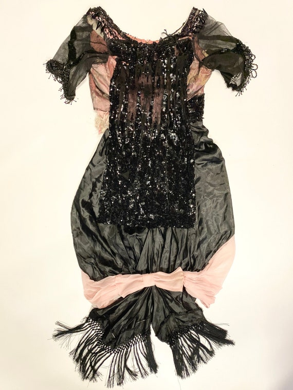 1890's Antique European Dress Bodice - image 1