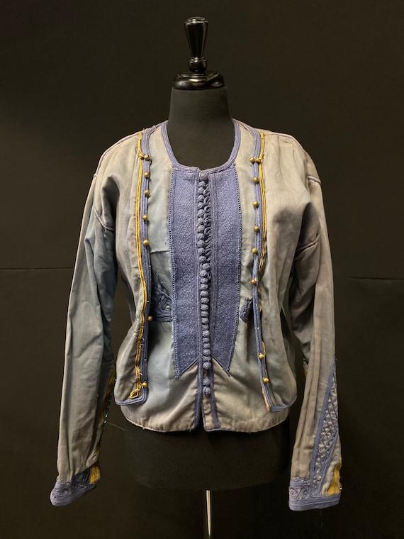 Antique Albanian Folk Jacket and Waistcoat/Vest