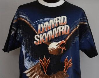 37828a706ff Vintage 90s Lynyrd Skynyrd Tee