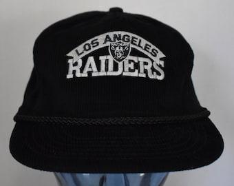 e62ae347a62 Vintage 80s Los Angeles Raiders Hat