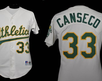 Vintage Jose Canseco No. 33 Jersey c6e05ed56c1