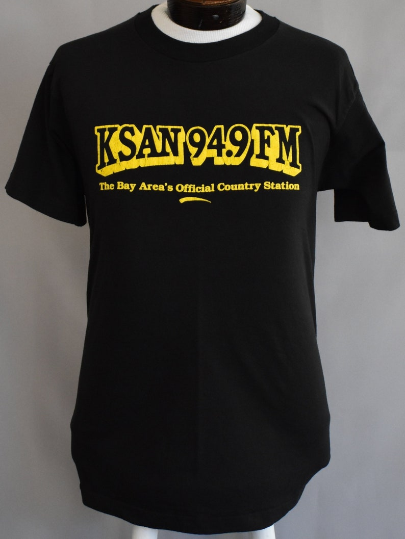 Vintage 90s KSAN 949 Tee 1990s Bay Area Radio Station