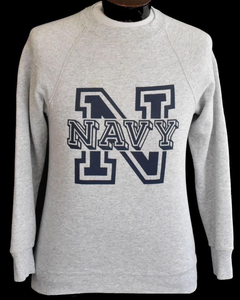 US NAVY RAGLAN HOODIE United States Crest Pullover Sweatshirt Hoody USA Military