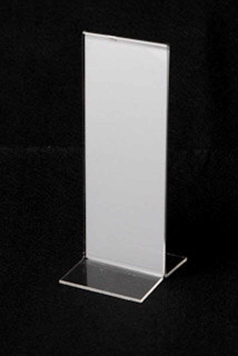 Photo Booth Frame 2x6 T Style Lot of 260 Acrylic Picture Frames