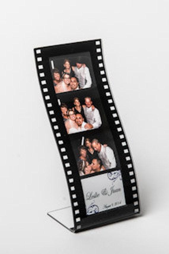 Photo Booth Frame 2x6 Wavy Film Strip Lot Of 200 Acrylic
