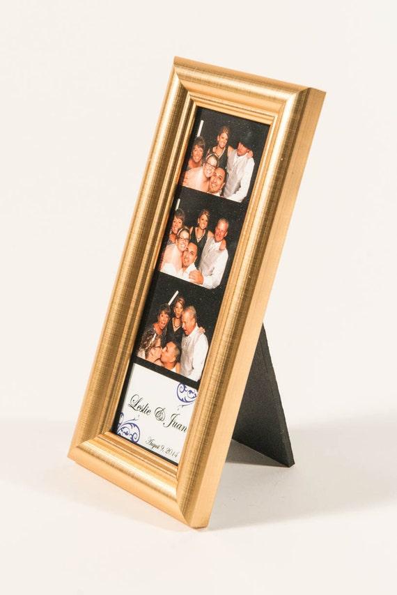 2x6 Premium Gold cadre avec verre Photo Booth cadres pour photo booth bandes