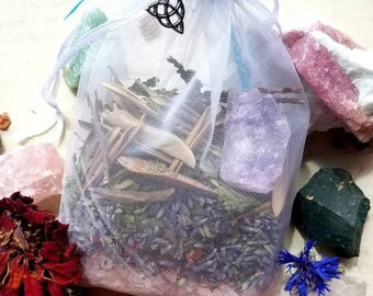 Mourning Mix - Grief and Loss Support Sachet - Herbal Sachet - Death, Mourning, Loss, Grieving - Lavender Scent
